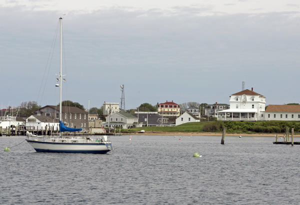 Block Island from the harbor