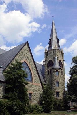 A church in Cambridge, MD.